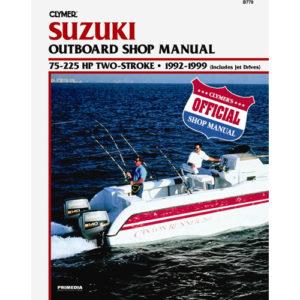 Reparaturanleitung für Suzuki 75 – 225 PS 2-Takt Bj. 1992 – 1998
