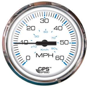 GPS-Geschwindigkeitsanzeige von FARIA im Design Chesapeake SS White
