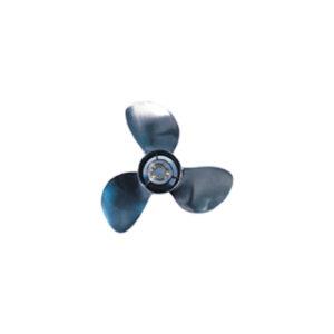 PowerTech Edelstahlpropeller 11-1/4 x 12R für Mercury 30-60 PS (matt)