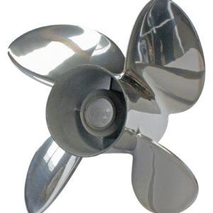 SOLAS Rubex HR4 Edelstahlpropeller 13-1/2 x 13R (ohne Nabenkit)