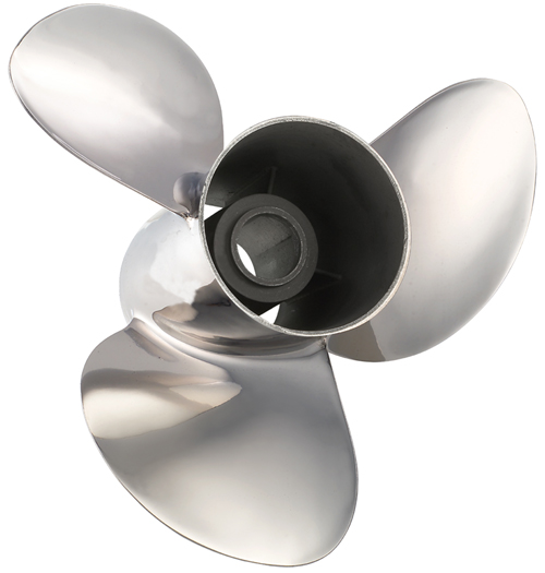 SOLAS Rubex NS3 Edelstahlpropeller 14-1/4 x 17R (ohne Nabenkit)