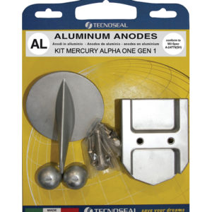 Tecnoseal Anodensatz Aluminium für MerCruiser Alpha One 1. Generation