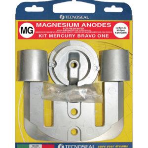 Tecnoseal Anodensatz Magnesium für MerCruiser Bravo One
