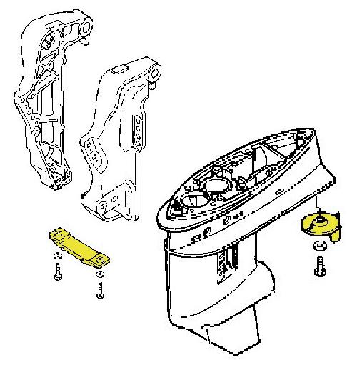 Technoseal Anodensatz Alu für Honda BF 40-50