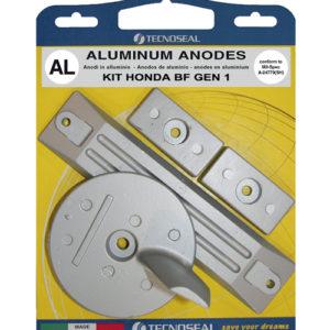 Tecnoseal Anodensatz Aluminium für Honda BF 90-130