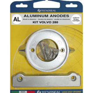 Tecnoseal Anodensatz Aluminium für Volvo Penta AQ280
