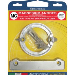 Tecnoseal Anodensatz Magnesium für Volvo Penta AQ280-DP (Duoprop)