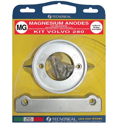 Tecnoseal Anodensatz Magnesium für Volvo Penta AQ280