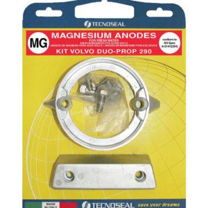 Tecnoseal Anodensatz Magnesium für Volvo Penta AQ290-DP (Duoprop)