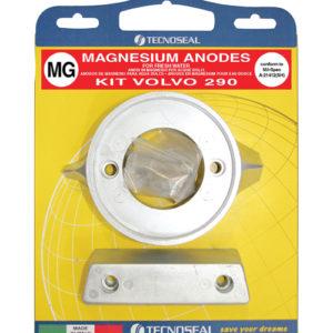 Tecnoseal Anodensatz Magnesium für Volvo Penta AQ290