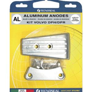 Tecnoseal Anodensatz Aluminium für Volvo Penta DPH (Duoprop)