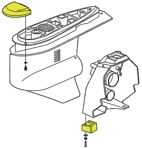 Tecnoseal Anodensatz Magnesium für Volvo Penta SX